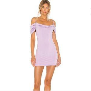 NEW NWT superdown Grayson Mini Dress in Lavender